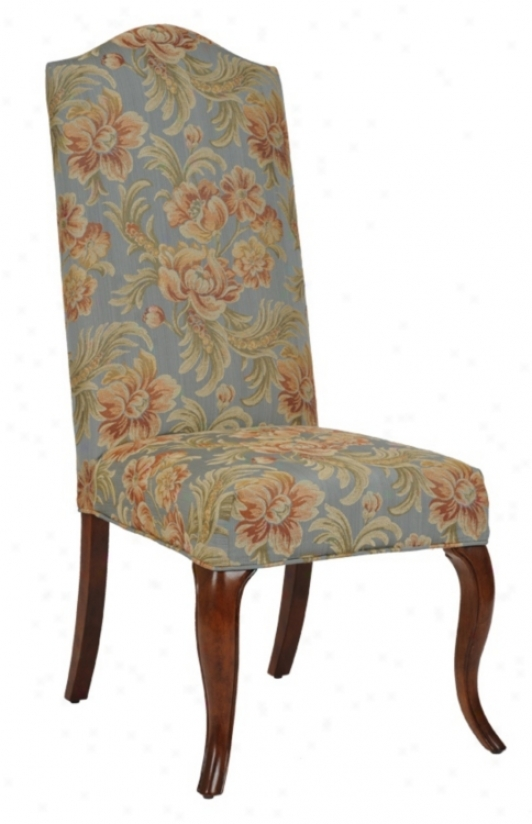 Hyacinth Slipcovered High Camel Back Armless Dining Chair (m5095-m5140)