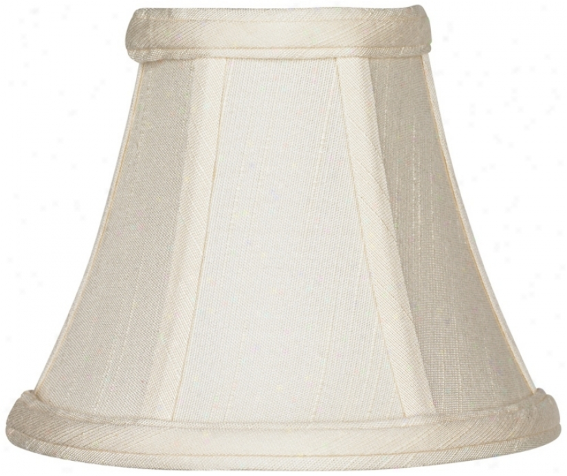 Imperial Collection™ Creme Bell Shade 3x6x5 (clip-on) (r2652)