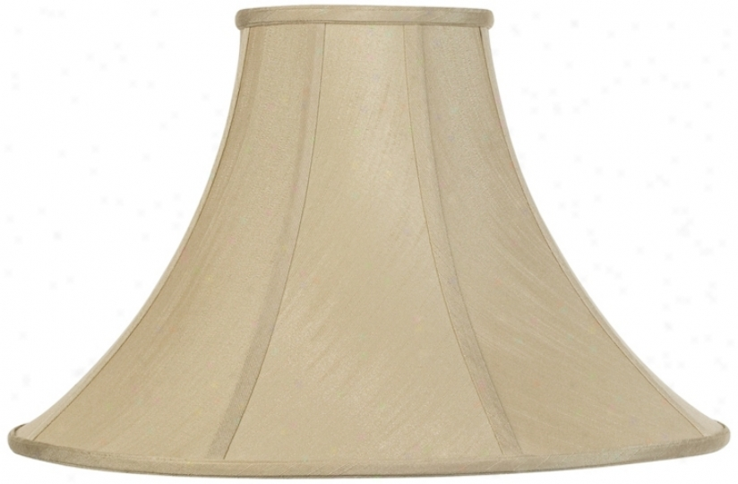 Imperial Shade Collection Taupe Bell 7x20x13 3/4(spider) (r2690)