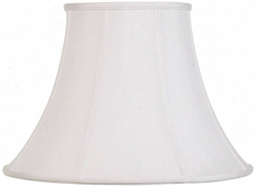 Imperial Shade Collection White Bell 9x18x13 (spider) (r2671)