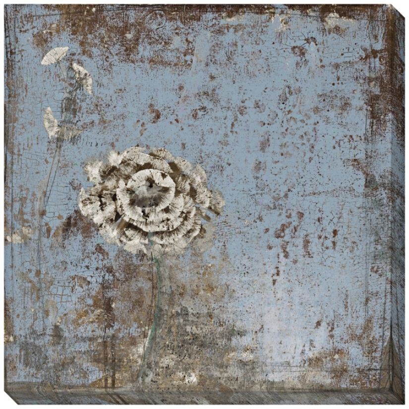 "Indigo Awakening I Limited Edition Giclee 40"" Wide Wall Art (l0550)"