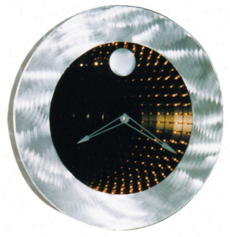 "Interstellar Infinity 22"" Wide Clock (f2438)"
