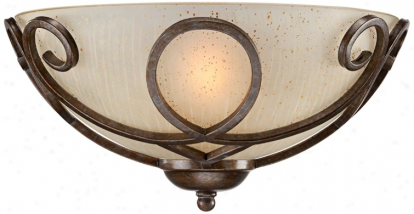 Iron Art Pocket Wakl Sconce (t9799)