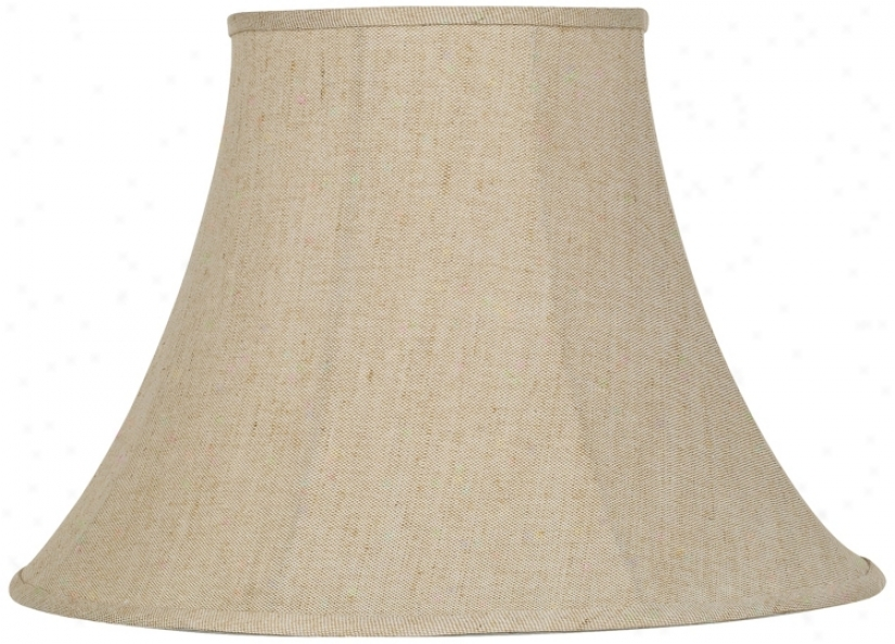 Ivory Bell Liben Lamp Shade 9x19x12.5 (spider) (79375)