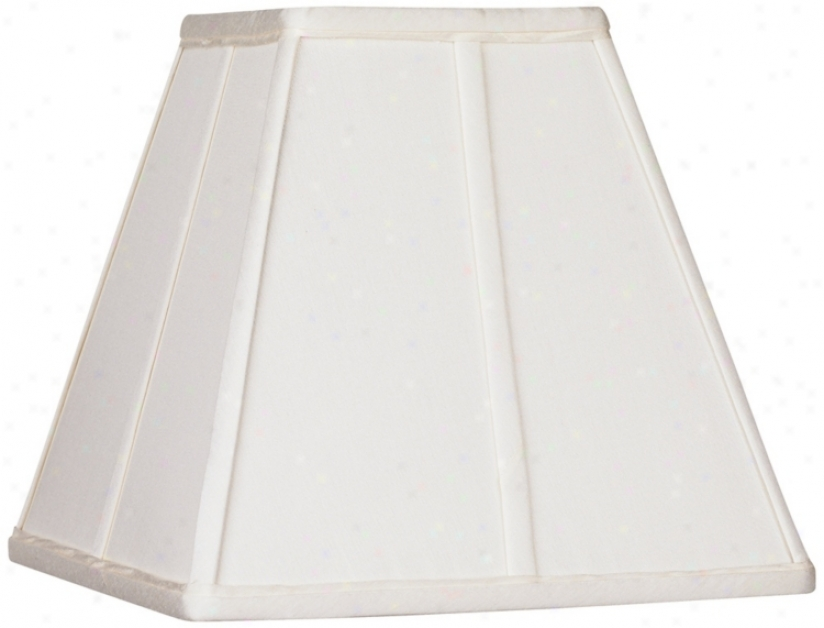 Ivory Classic Square Shade 5x10x9 (spider) (23875)