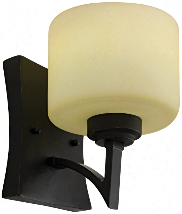 "Izoro Collection Energy Star 8 3/4"" Strong-flavored Wall Sconce (h9820)"