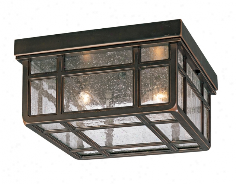 "J Du J Missuon Hills 10 1/2"" Wide Outdoor Ceiling Light (65087)"