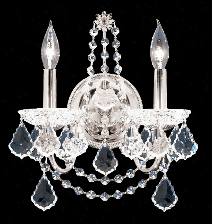 James R.  Moder 14&quit; Great Crystal Wall Sconce (80739)