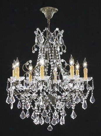 "James R. Moder 28"" Wdie Charleston Collection Chandelier (21373)"