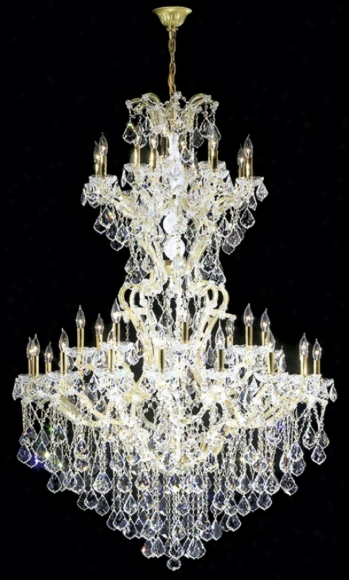 "James R. Moder 46"" Wide Maria Teresa Grand Chandelier (38813)"