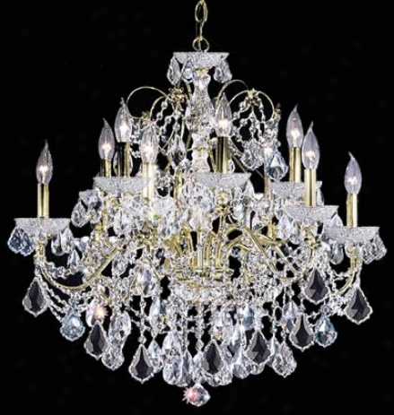 "James R. Moder Belle Wave 28"" Wide Crystal Chandelier (56508)"