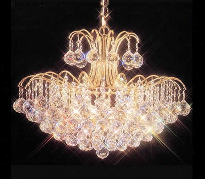 James R. Moder Mardella Sixteen S~ Crystal Chandelier (06088)