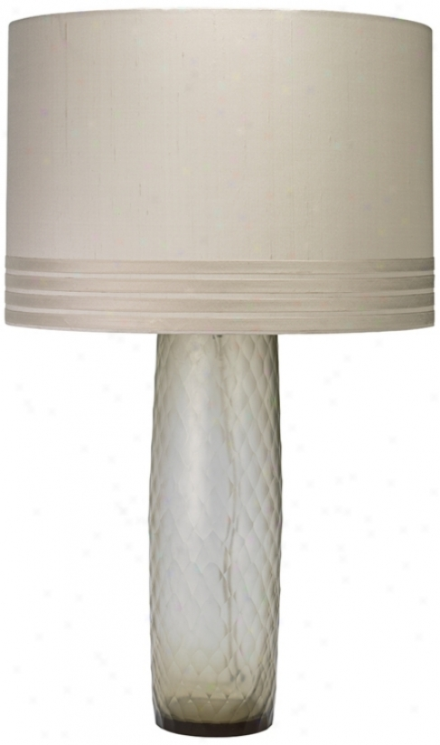 Jamie Young Cloud Smokey Glass Table Lamp (u3801)
