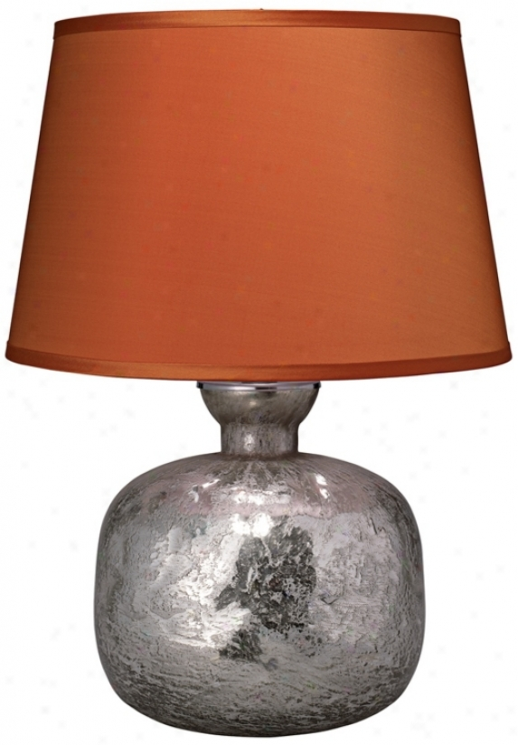 Jamie Young Jug Textured Mercury Glass Table Lamp (w5423)
