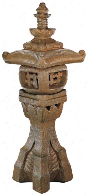 Japanese Lantern Garden Accent (35191)