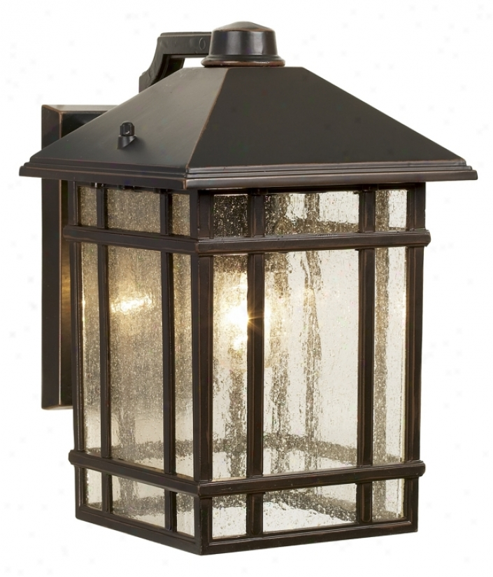 "Jardin Du Jour Sierra Craftsman 11"" High Outdoor Wall Light (38321)"