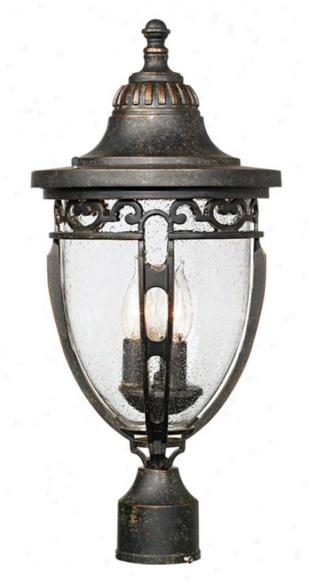 "John Timberland Bellisimo 21"" High Outdoor Post Light (16277)"