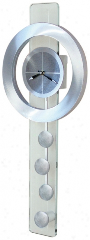"Juggling Time 28"" High Wall Clock (f2442)"