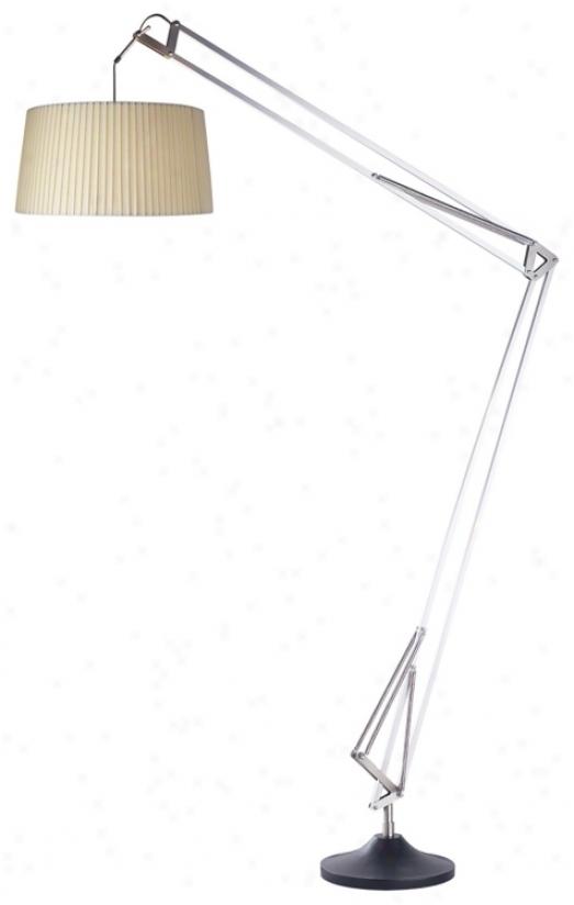 Jamie Young Small Lattice Glass Table Lamp U3689