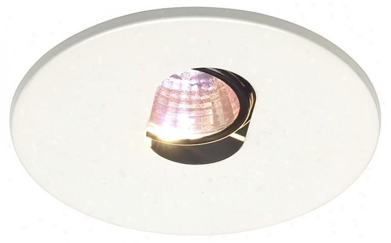 """Juno 4"""" Low Voltage Slot Aperture Recessed Light Trim (24878)"""