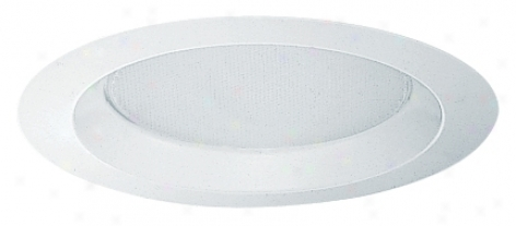 "Juno 6"" Albalite Lens Shower Recessed Light Trim (75640)"