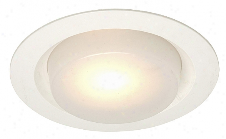 "Juno 6"" Drop Opal Shower Recessed Light Trim (07320)"