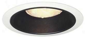 "Juno 6"" Line Voltage Black Baffle Recessed Light Trim (54151)"