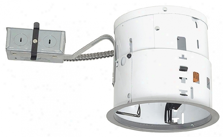 "Jino 6"" Line Voltage Non-ic Rrmodel Recessed Light Housing (41551)"