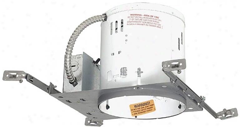 "Juno 6"" Line Voltage Nonic New Construction Recessed Housing (02469)"