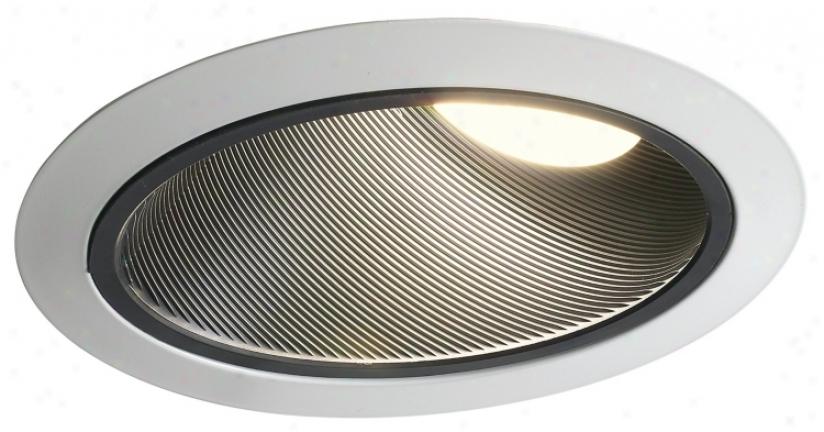 "Juno 6"" Super Slope Blacl Baffle Recedsed Light Trim (21852)"