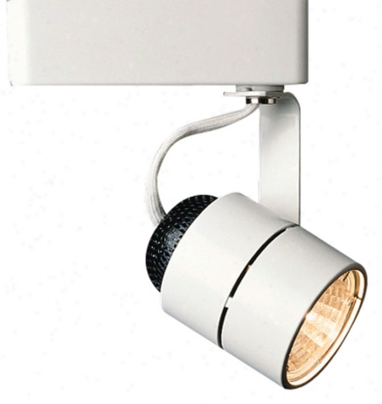 Juno Cylinder White Track Bullet Light (61228)
