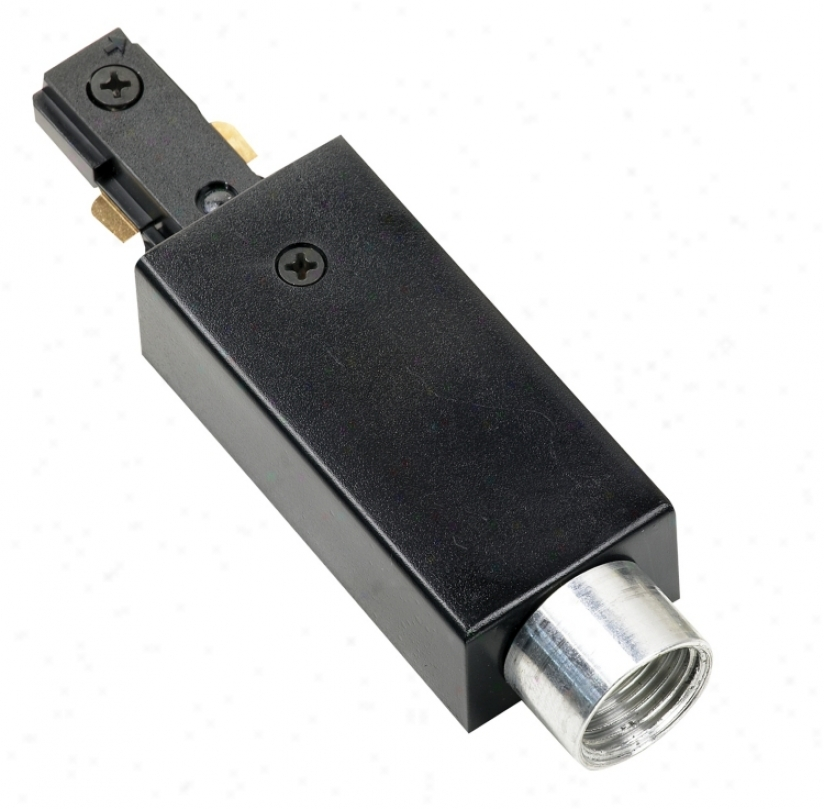 Juno Surface Conduit Adapter In Black (26738)