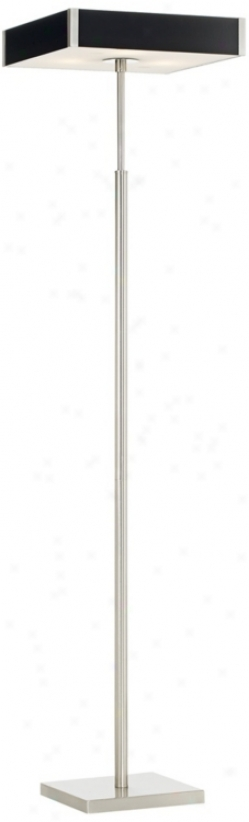 Kateb 3-light Polished Steel Floor Lamp (p5289)