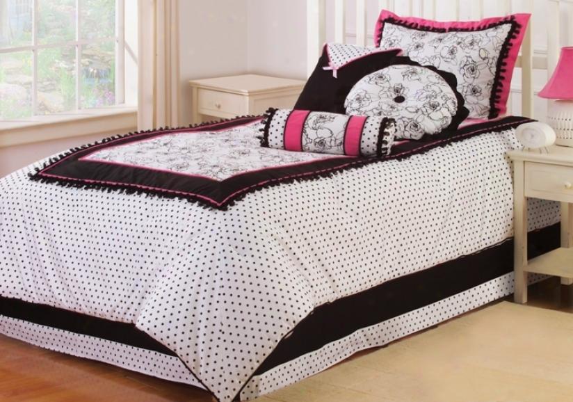 Kathy Ireland Abigale Three Piece Size Bed Set (h3304)