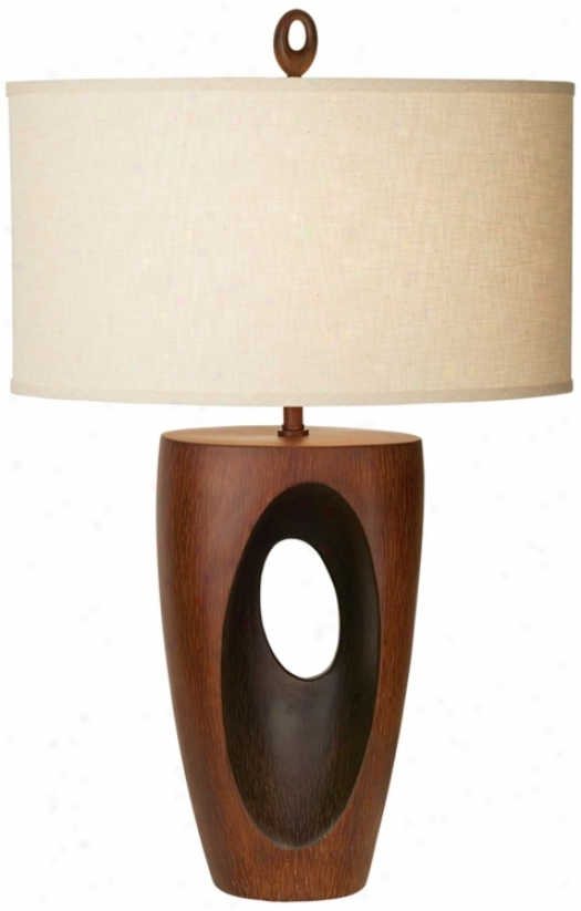 Kathy Ireland African Eclpise Table Lamp (p7342)