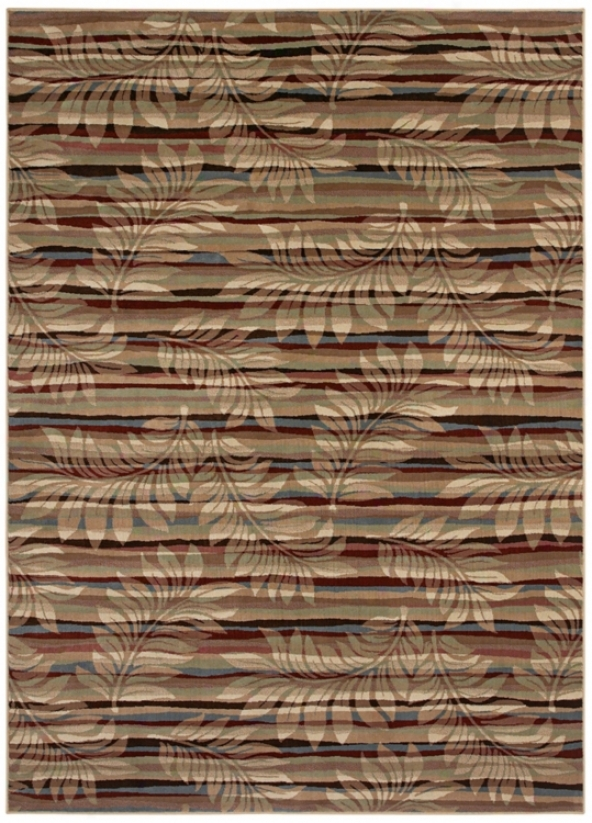 "Kathy Ireland Bali Kai Retreat 1'11""x3'2"" Area Rug (j7349)"