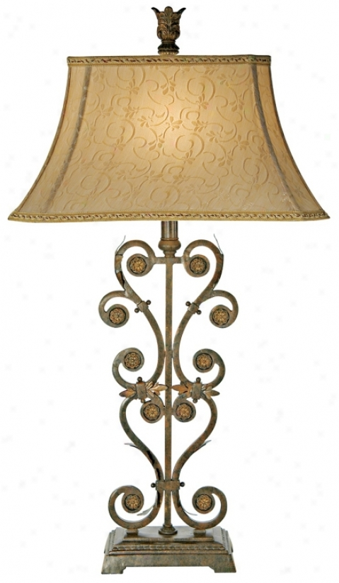 Kathy Ireland Delicate Romance Table Lamp (01457)