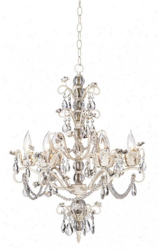 Kathy Ireland Dorset Swag Plug-in Style 6-light Chandelier (78588