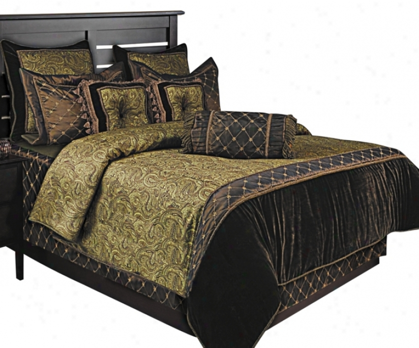 Kathy Ireland Class Classic 9-piece Queen Bed Set (99198)