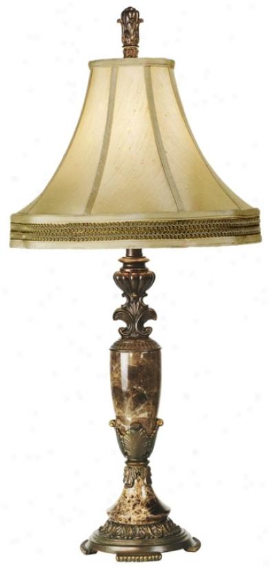Kathy Ireland Eu5opean Vase Table Lamp (74860)