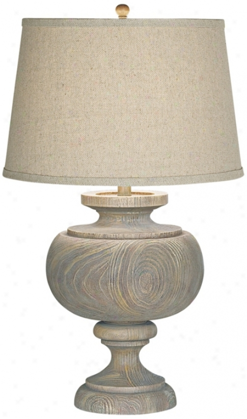 Kathy Ireland Grand Maison Grey Table Lamp (r5957)