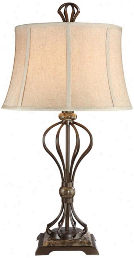 Kathy Ireland Grande Villa Accent Lamp (j2363)