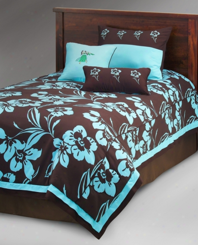 Kathy Ireland Island Escape 2-piece Comforter Set (k1826)