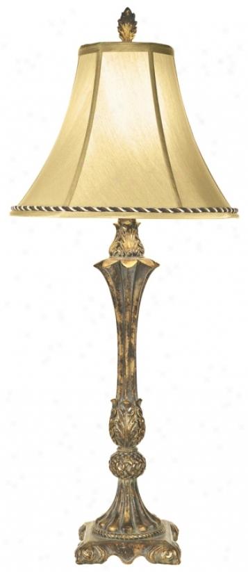 Kathy Ireland Italian Bud Vase Table Lamp (81140)
