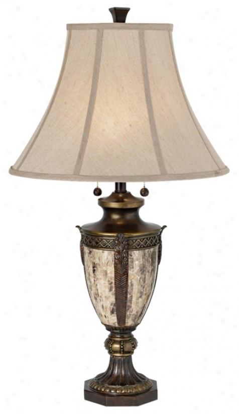 Kathy Ireland Lafayette Tqble Lamp (p3859)