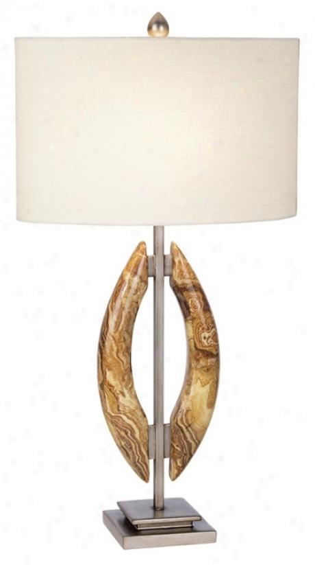 Kathy Ireland Modern Symmetry Table Lamp (p3828)