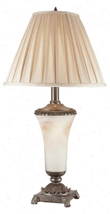 Kathy Ireland Monaco Sujset Night Light Table Lamp (91275)