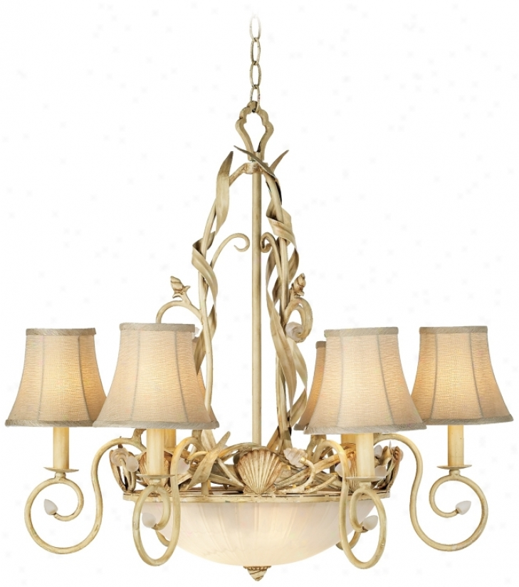 Kathy Ireland Sandy Beach 9-light Pendant Chandelier (h2385)