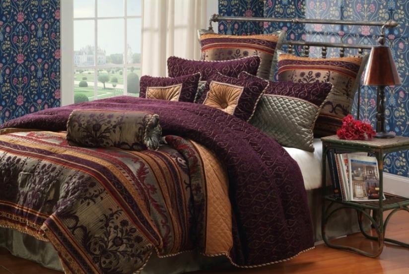 Kathy Ireland St. Petersburg 10-piece King Bed Set (k1776)