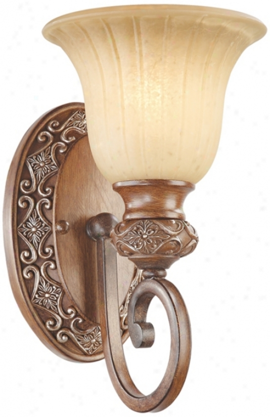 "Kathy Ireland Sterling Estate 12""high Wall Sconce (m3612)"